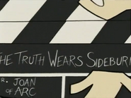 The Truth Wears Sideburns Clapper