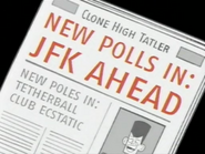 JFK Ahead in the News