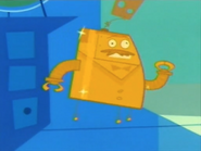 Mr. Butlertron is Made Out of Gold
