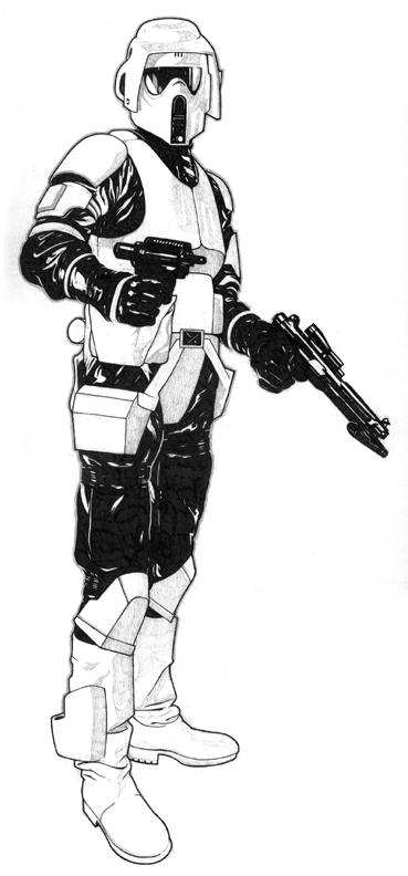 Clone Scout Trooper Clone Trooper Pedia Wiki Fandom