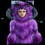 Purple Fur Wampa Suit 64