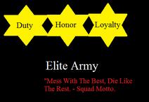 Elite Army symbol.