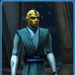 The Zabrak Jedi Master