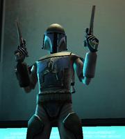 Ember's mando armor