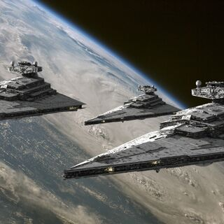 Trio of Star Destroyers