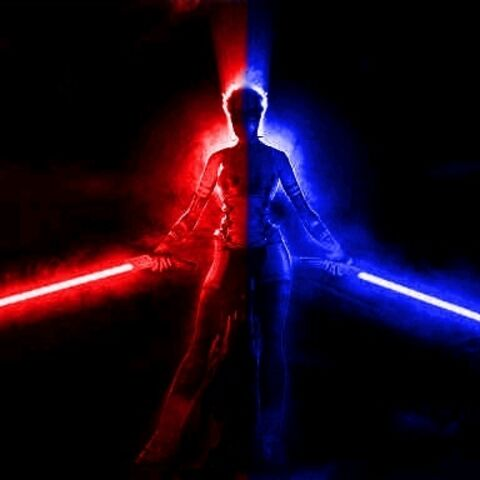 Mal DarkNova as Light Side first then later in his life changed to Dark Side.