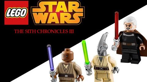 Lego Star Wars The Sith Chronicles III (Stop-Motion)