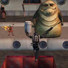 Malek in betrayed by Jabba the Hutt