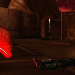 Malek lies lifeless at the hands of his third clone.