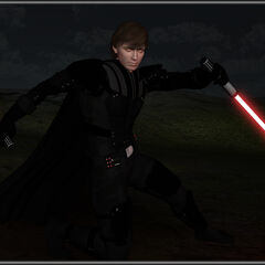 A 3D render of Kalin Thalis created by DeviantART.com member, Crimsonight (CWA Name: Avarice Knightfall)