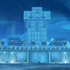 The Larcon Legion base on Iceburg Three