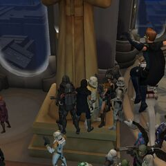 Larcon Legion spent their last few seconds of the game in this location of the Jedi Temple. Clone Wars Adventures shall rest in peace as Larcon Legion will continue to live on! Larcon Legion - First and Last to Stand and Fight!