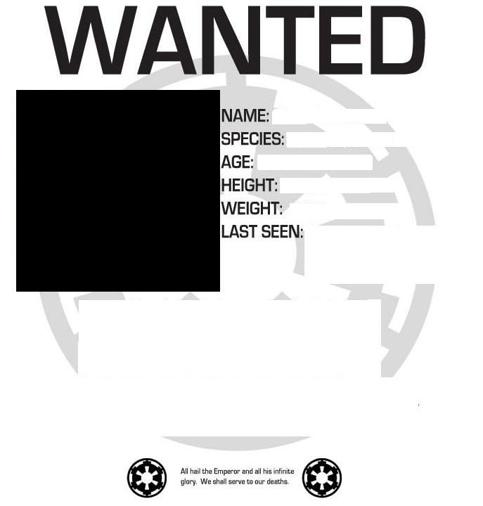 Image Wanted Poster Layoutpng CWA Character Wiki FANDOM