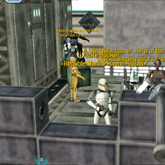 thumb|A commando droid turret