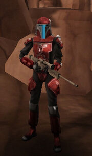 Bounty Hunter Armour