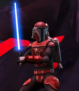 Stronox Custom Figures: Mandalorian Jedi Hunter