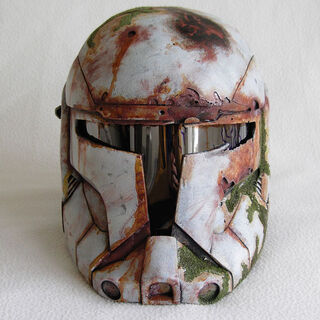 Battered Clone Helmet