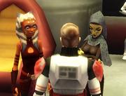Luke, Ahsoka, and Barriss