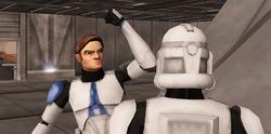 Luke and clone