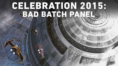 Bad Batch Star Wars The Clone Wars Panel - Star Wars Celebration Anaheim
