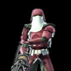 Griff in Galactic Marine armor.