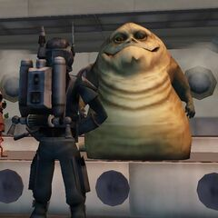 Malek accepts his first bounty hfor Jabba.
