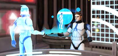 Luke communicates