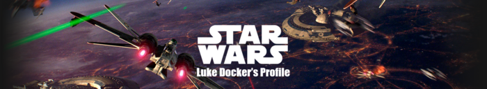 Star Wars Luke Docker Profile banner