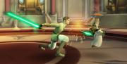 Luke vs Yoda 4