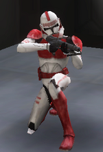 Shock trooper crouch