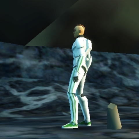 Gram frees Sergeant Joker and Corporal Spanner from Droid captivity on Iceberg Three.
