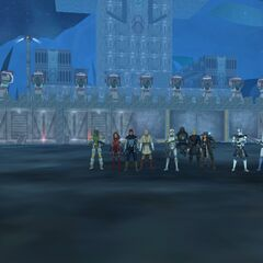Larcon Legion's last moments at the Squad Base.