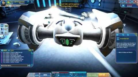 A Clone Wars Adventutes Glitch (Umbaran Hover Tank)
