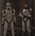 Luke and Corporal White man