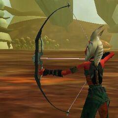 Asaada uses a bow while on Felucia