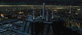 Jedi Temple night