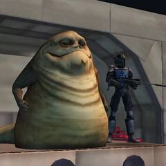 Malek during the time her worked for Jabba the Hutt.