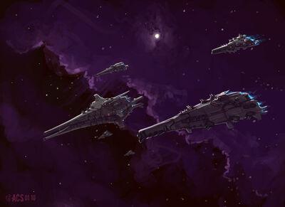 Flagship Fleet by Shimmering Sword