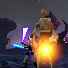 Zadira in Battle on Umbara seconds before Order 66