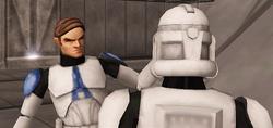 Luke and clone 2