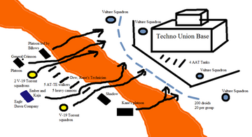 Battle of Mustafar Diagram