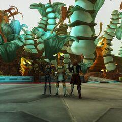 Meet Commander Sara, General Neeligroam, and General Sharkie!