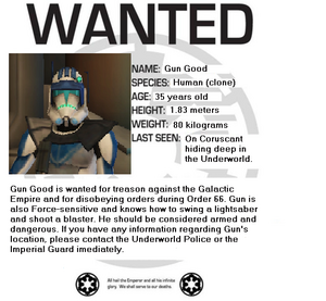 Gun Good's Wanted poster 1