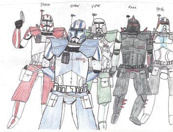 The ARC commander team