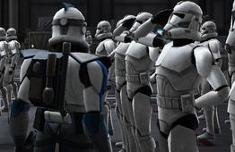 Ember overseeing the training of Blue Talon Legion.