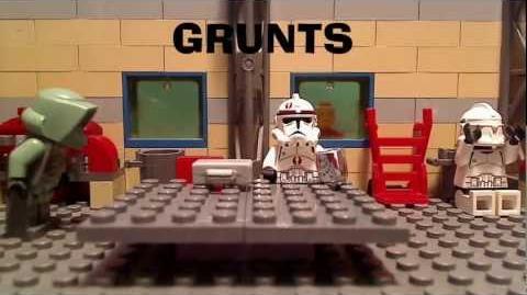 LEGO Clone Wars - Grunts - Pilot Episode