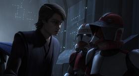 Skywalker with Troopers