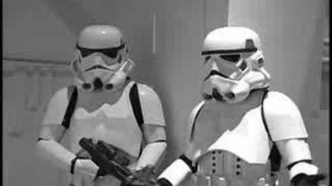 Injured Stormtrooper Fan Film