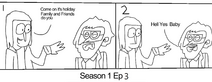 Close Enough StoryBoard