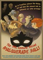Helios Masquerade Ball Poster